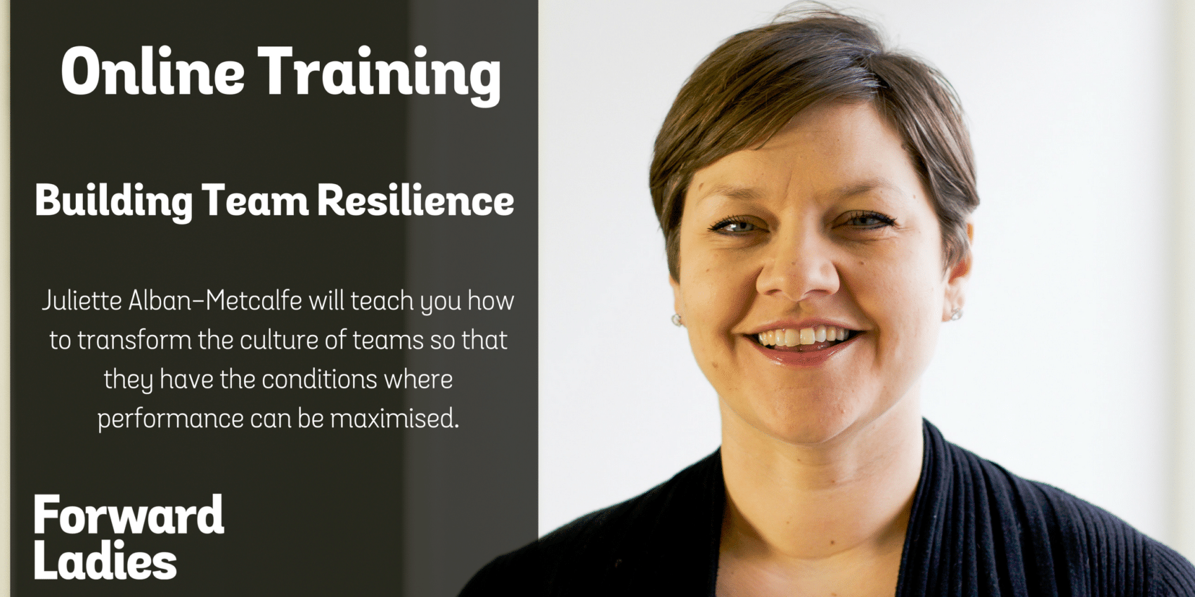 Building Team Resilience Webinar with Juliette Alban-Metcalfe