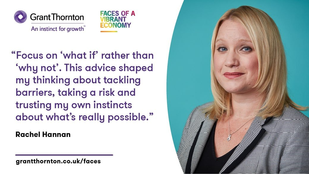 Grant Thornton unveils 2018 Faces of a Vibrant Economy featuring our chair, Rachel Hannan